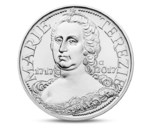 Czech 200 CZK  Birth of Maria Theresa Silver 2017