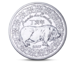 France 1/4 Euro Year of Pig 2007