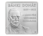 Hungary 1000 Forint Banki Donat's Water Turbine 2009 PROOF