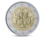 2 Euro Constantine and Methodius Slovakia 2013