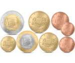 Latvia Euro Coins Set 2014