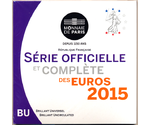 France Official Euro Set 2015 in Folder
