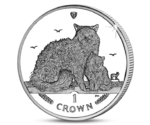 IOM 1 Crown Selkirk Rex Cat 2015