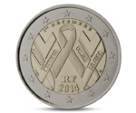 2 Euro AIDS France 2014