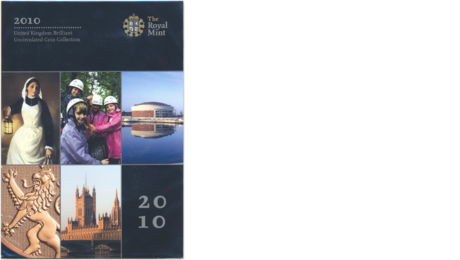 UK Great Britain Official Mint Set United Kingdom 2010