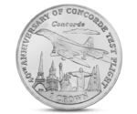 40th Anniversary of the First Flight of the Concorde - Silver