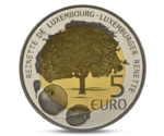 Luxembourg 5 Euro Reinette - Apple Tree 2014
