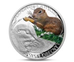 Niue 1 Dollar Ground Squirrel Silver 2014