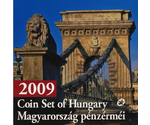 "Hungary Official Mint Set ""The new 200 forint circulation coin"" 2009 BUNC"