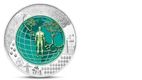 Austria 25 Euro Anthropocene 2018