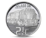 South Africa 2.5 cent Trains 2013 Proof Silver
