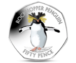 FAL 50 Pence Northern Rockhopper Penguin  2017