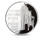 Czech 200 CZK Municipal House in Prague Silver 2012 PROOF