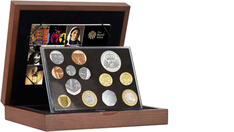 UK Great Britain Official Mint Set Executive 13,38 GBP 2010 PROOF