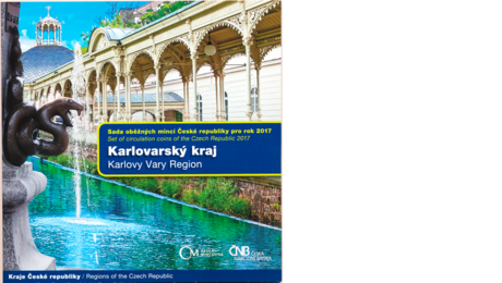 Czech Official Mint Set Karlovy Vary Region 2017