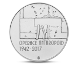 Czech 200 CZK Operation Anthropoid Silver 2017