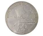 Senegal 50 Francs 25th Year of EURAFRIQUE 1975 PROOF
