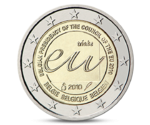 Belgium 2 Euro Belgian Presidency of the EU 2010 UNC