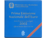 Italy Official Euro Coin Set 2002
