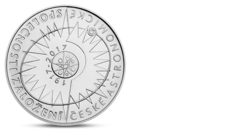 Czech 200 CZK Astronomical Societ 2017