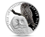 Niue 1 Dollar Owl Silver 2017 PROOF