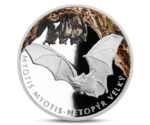 Niue 1 Dollar Greater Mouse-Eared Bat Silver 2016