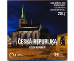 Czech Official Mint Set  2017 BUNC