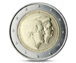 Netherlands 2 Euro Double Portrait Beatrix/Willem 2014 UNC