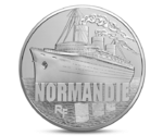 "Luxurious ocean liner ship ""NORMANDIE"""