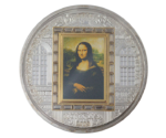 Masterpieces of Art - Leonardo Da Vinci Mona Lisa PROOF 2009
