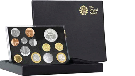 UK Great Britain Official Mint Set Deluxe 13,38 GBP 2010 PROOF