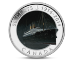 Canada 50 Cents Silver RMS Empress of Irland 2014
