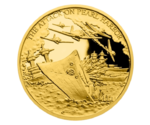 Niue 5 NZD Attack on Pearl Harbor Gold 2016