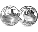 Set of two coins - RMS Titanic